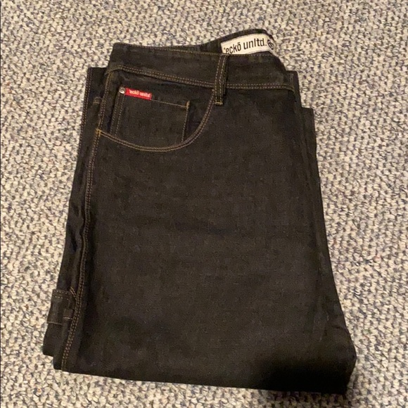 ecko untld. Black carpenter jeans